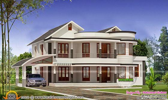 Modern 2815 sq-ft home