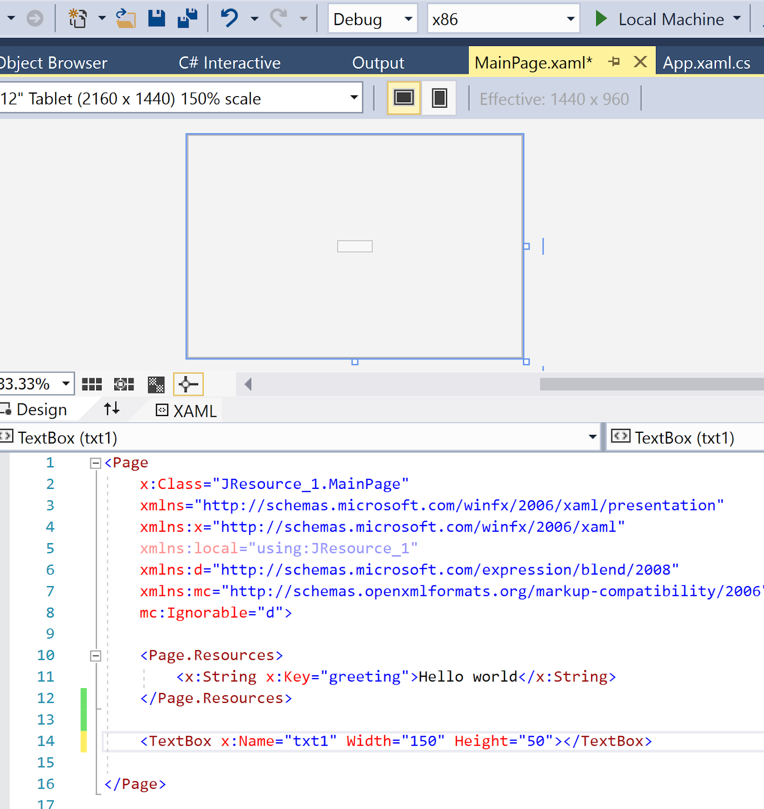 Hodentekhelp Uwp How Do You Access Page Resources By Code In An
