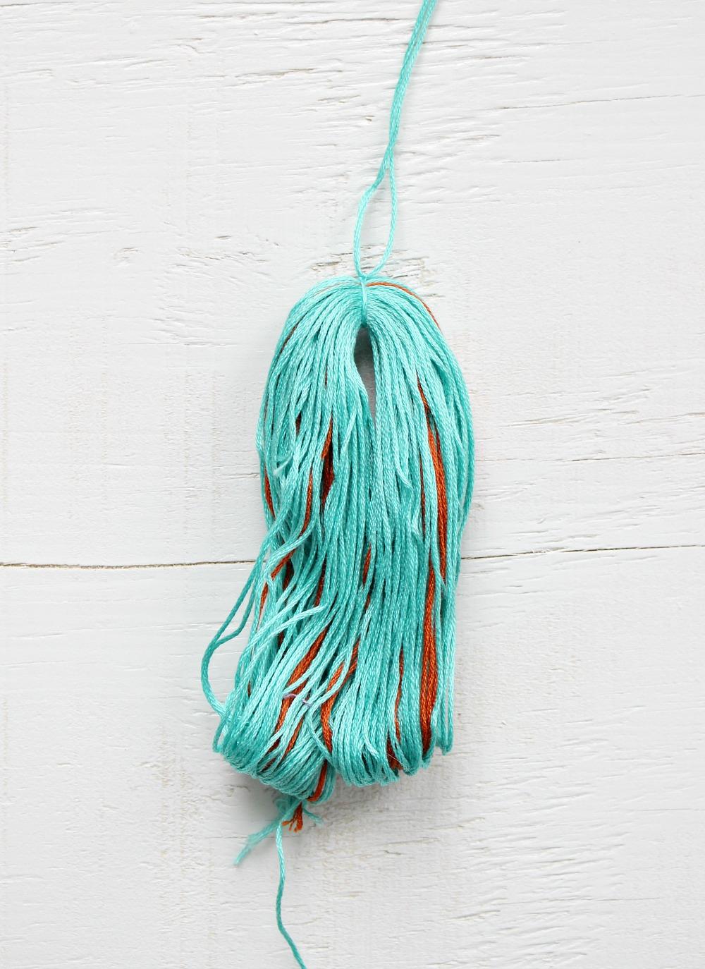 Embroidery Thread Project Idea