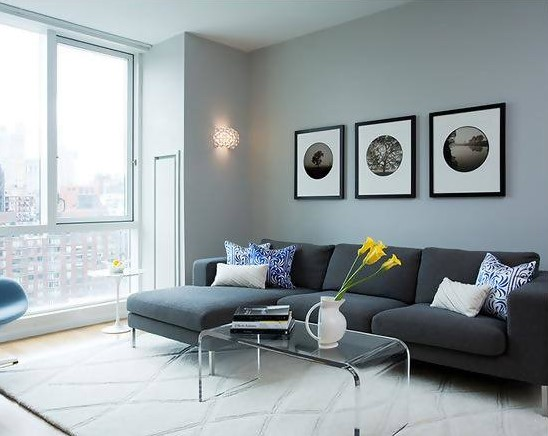 55 Warna Cat Dinding Untuk Ruang Tamu Modern Yang Bagus