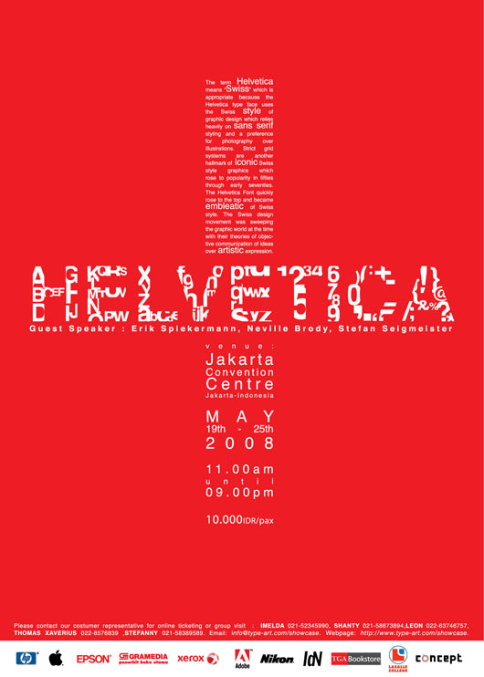 50 Creative Helvetica Inspired Artworks Posters