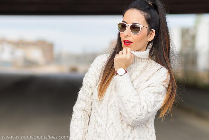 Blogger de moda belleza estilo de Valencia con look casual streetstyle