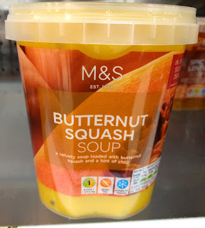 M&S Butternut Squash Soup