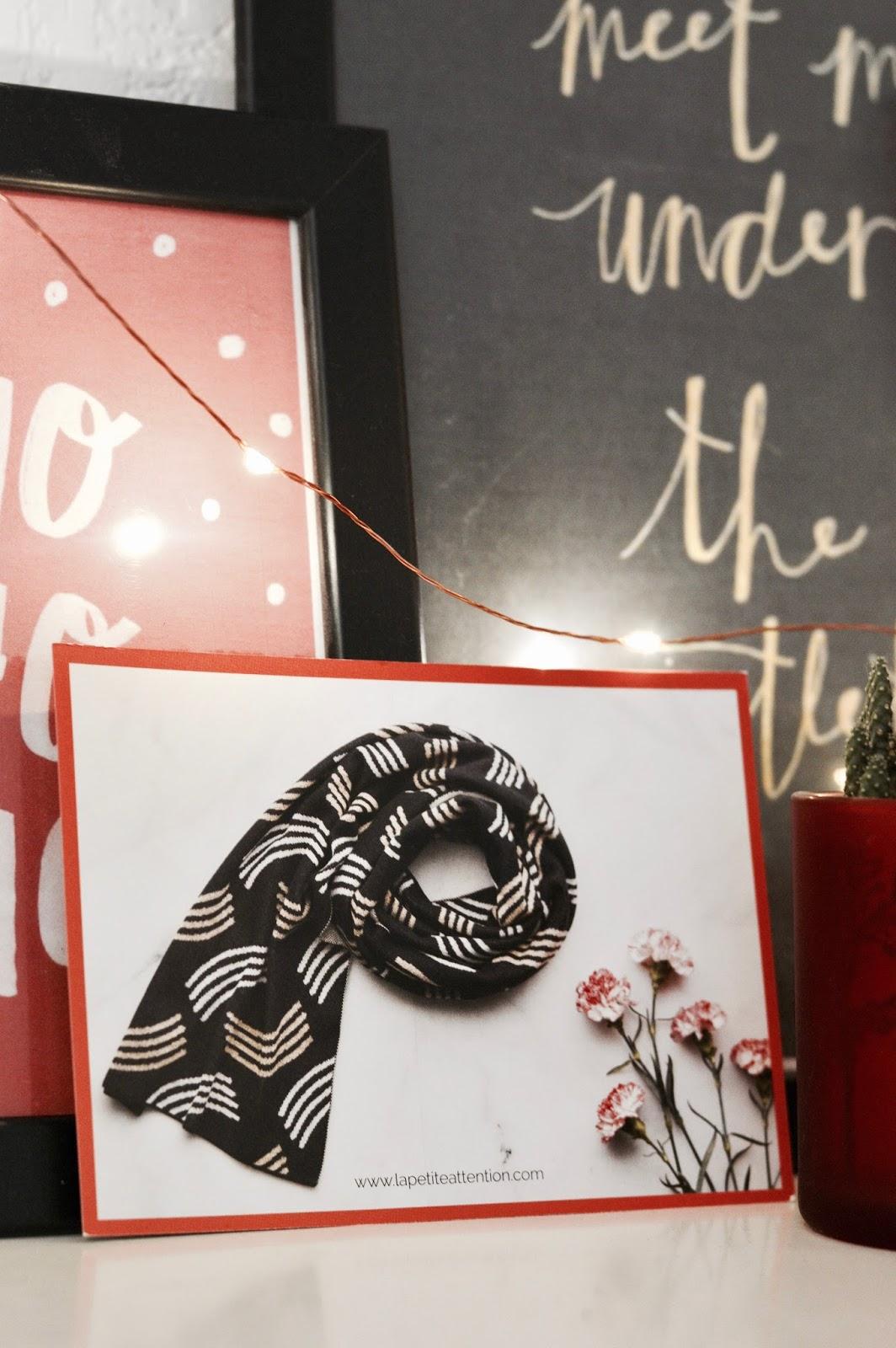 La petite attention de décembre idée cadeau box mensuelle