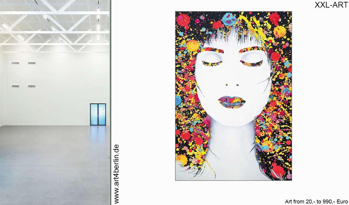 art sale moderne kunst abstrakte lgem lde gro e acrylbilder g nstig in zwei berliner. Black Bedroom Furniture Sets. Home Design Ideas