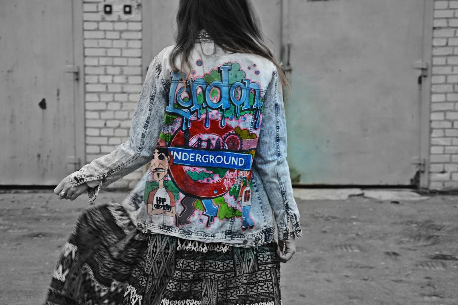 london underground jacket