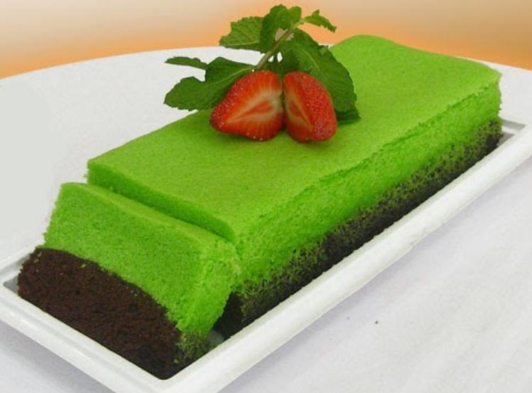 Resep Mudah Kue Brownies Kukus Pandan Coklat Sederhana