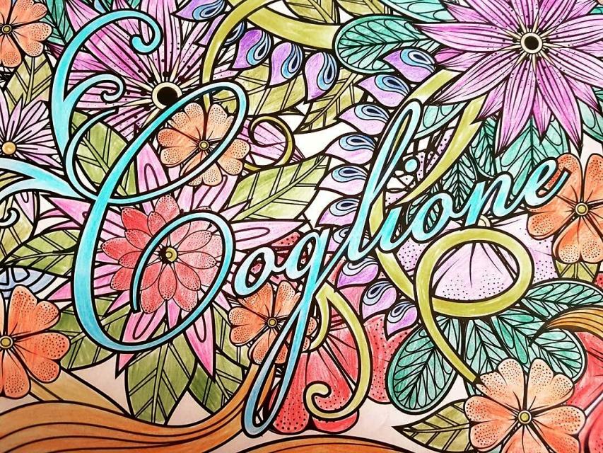 Antistress coloring book 18 - 4 6