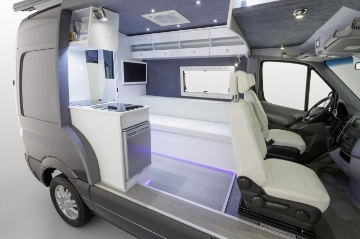 Mb Sprinter Caravan Concept Black And Silver
