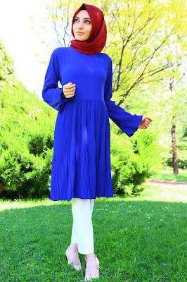 Tesettür giyim 2016 tunik modelleri