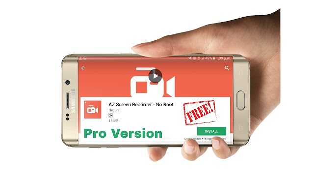BEST SCREEN RECORDER For Android Gaming YouTuber | A-Z Screen Recorder Pro Free |