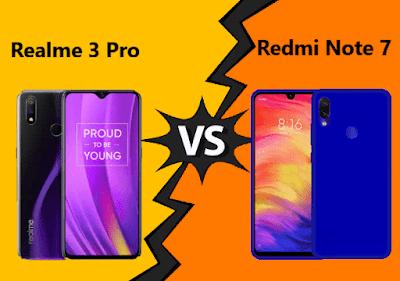 Realme 3 Pro vs Redmi Note 7