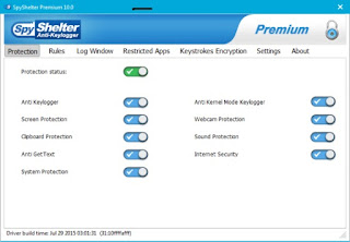 Anti Monitoring Software Informer: Antivirus, anti-phishing.