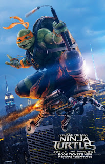 Download Film Teenage Mutant Ninja Turtles: Out of The Shadows (2016) HDTS Subtitle Indonesia