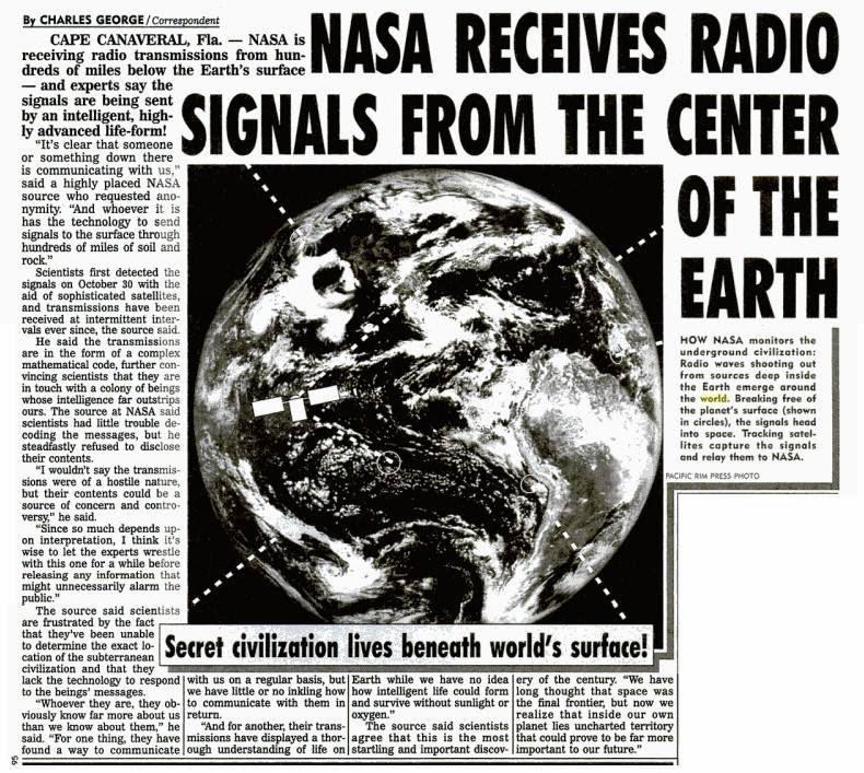 Resultado de imagen de nasa radio 1995 earth