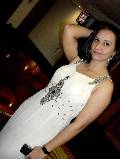 Telugu Character Artist Apoorva Hot White Dress Photos