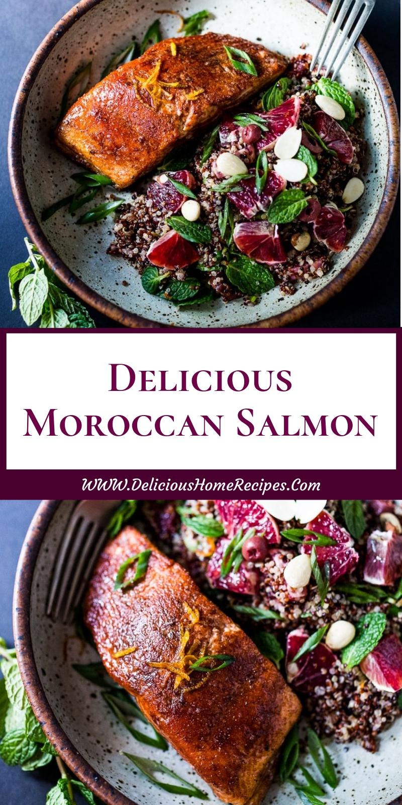 Delicious Moroccan Salmon
