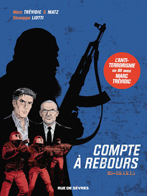 Compte à rebours tome 1 - Es Shahid éditions Rue de Sèvres