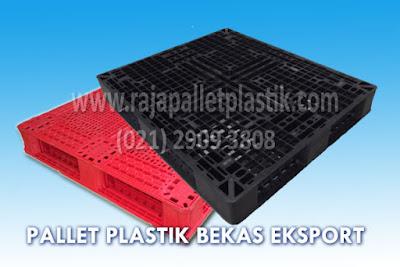 Pilih Pallet Plastik Bekas Untuk Ekspor Barang
