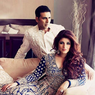 Modeling Photoshoot | Akshay with Wife Twinkle Khanna