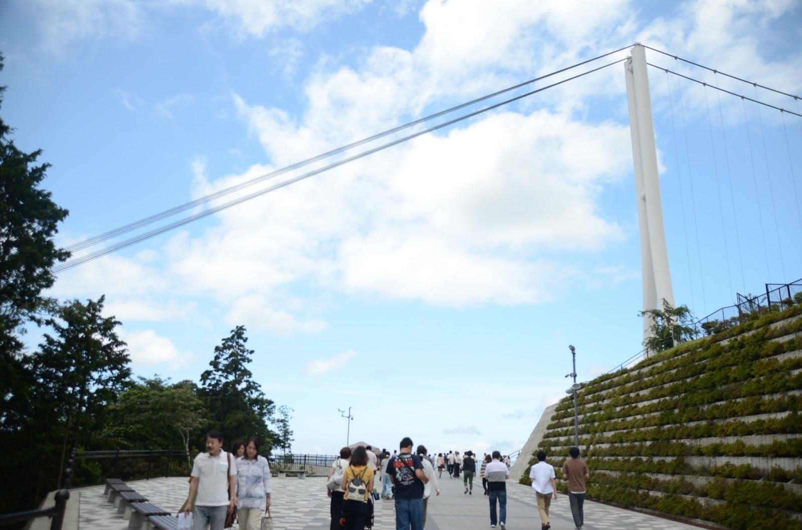 [日本/靜岡] 走在日本最長的吊橋上 探訪寧靜小鎮三島