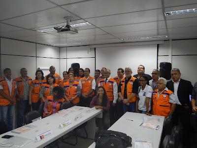 Superintendência de Salvador participa do 1º Encontro Regional dos Coordenadores Estaduais de Proteção e Defesa Civil do Nordeste.