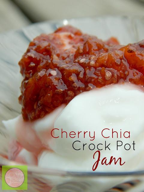 cherry chia crock pot jam (sweetandsavoryfood.com)
