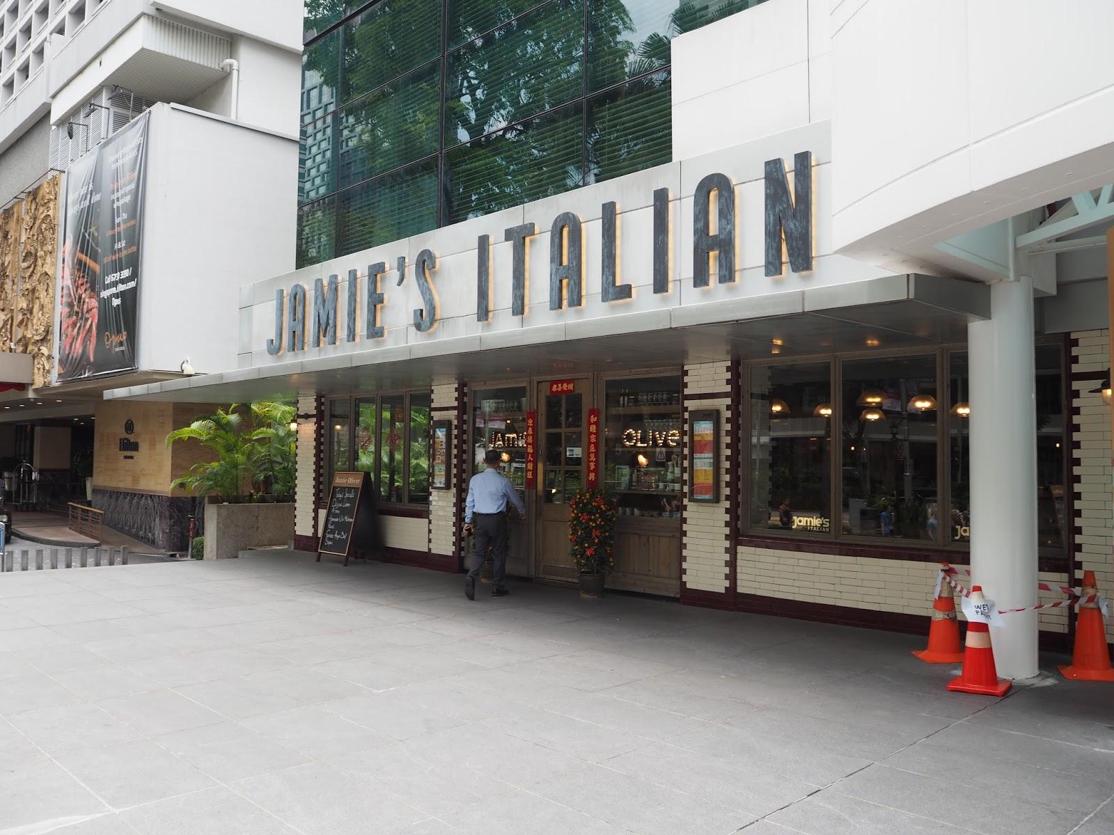 Jamies Italian Forum The Shopping Mall 583 Orchard Rd Singapore 238884 Phone 65 6655 7676