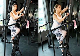 Ashley Greene Working Out