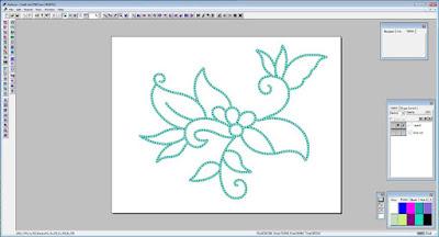 ansries design membuat batik kontur