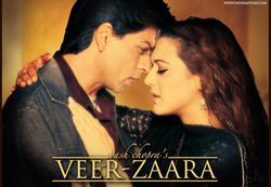 Veer Zaara full movie watch online hd poster