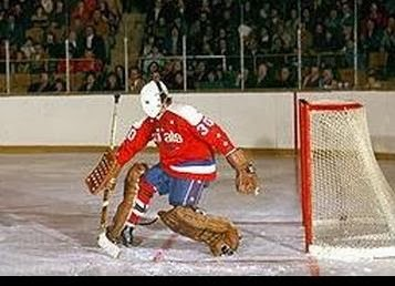 3/1/75: Ron Low made 44 saves