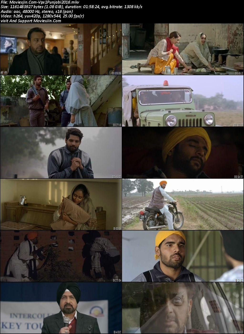 Vaapsi 2016 Punjabi Movie DVD-Rip 720p