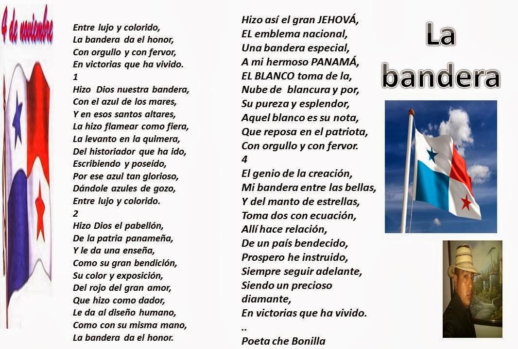 EL LIBRO DÉCIMAS DEL POETA CHE BONILLA: BANDERA PANAMEÑA