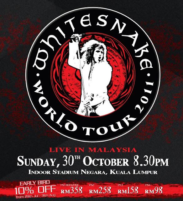 Malaysia Whitesnake Concert