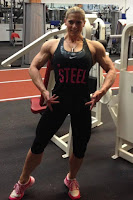 Female Bodybuilding muscle growth