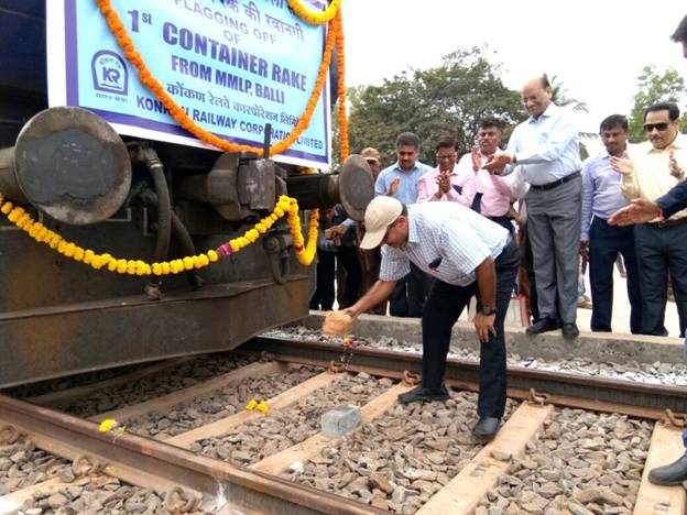 Multi Modal Logistic Park at Balli(Goa) Inaugurated