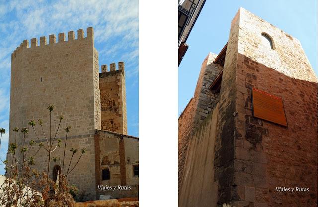 Torre de la Bombardera y Torreón del Rincón