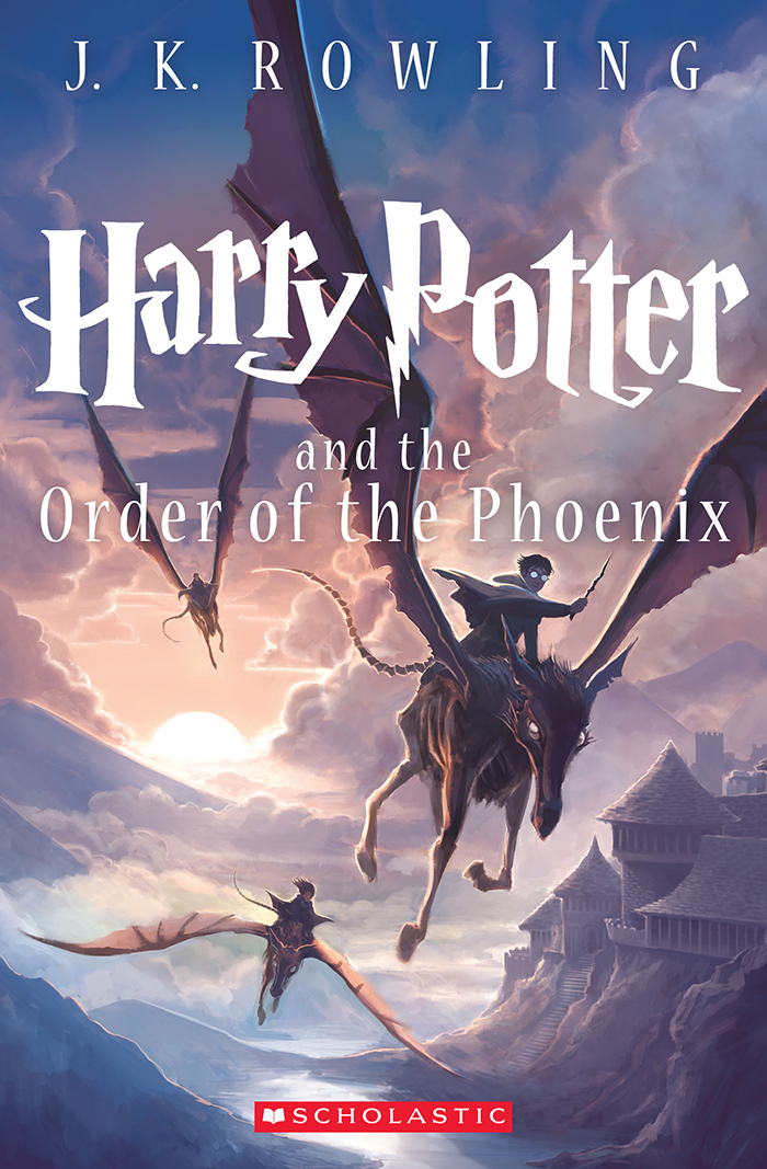 Harry Potter and the Order of the Phoenix 15th Anniversary Cover by Kazu Kibuishi