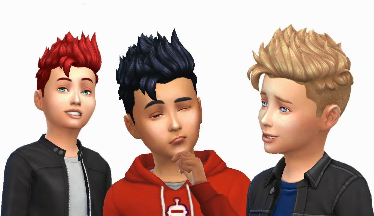 My Stuff: Pompadour Spiky For Boys