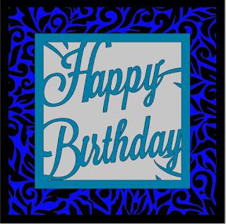 Happy Birthday: Tarjeta.