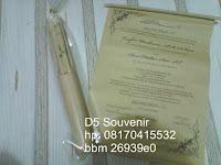 cara membuat undangan nawolo bambu