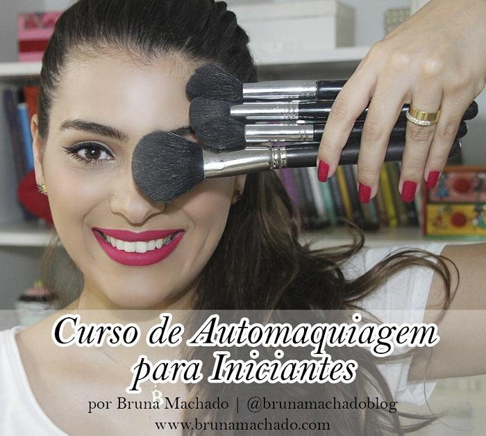 CURSO DE AUTOMAQUIAGEM PARA INICIANTES