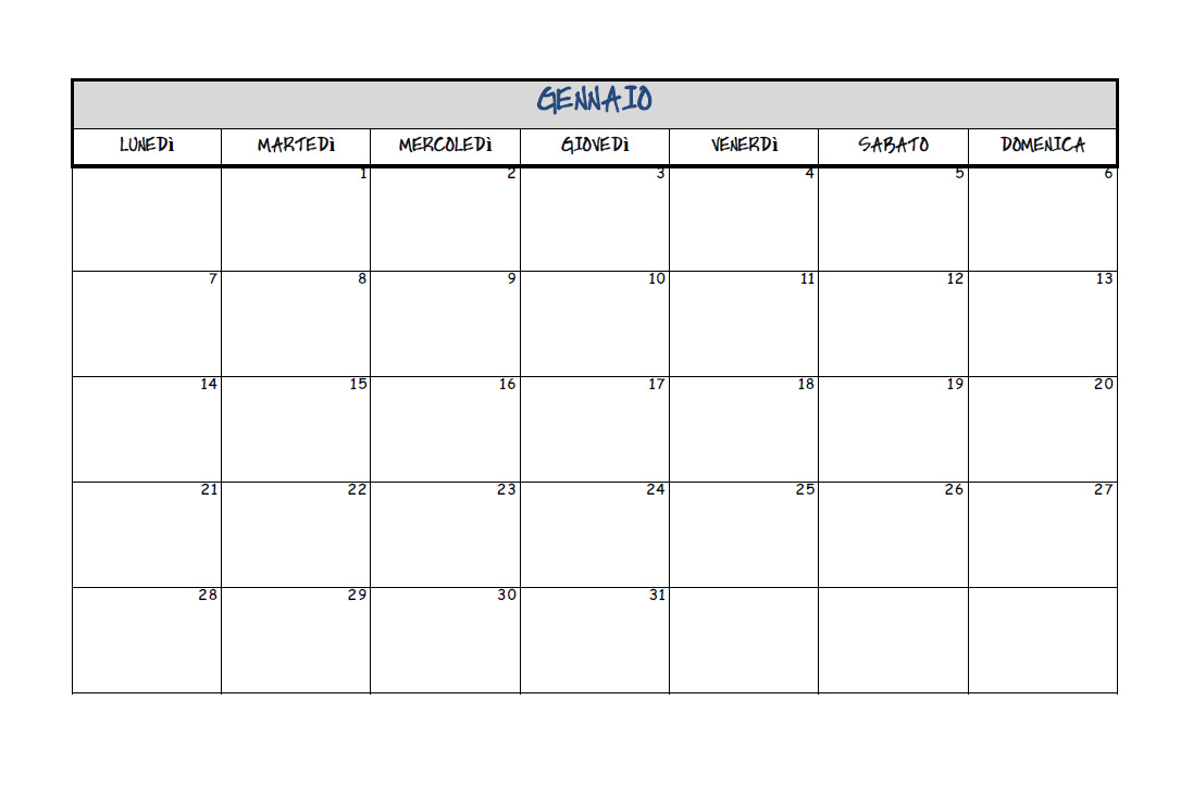 Amato Calendario 2013 da stampare gratis. ~ Facciamo festa insieme VP66