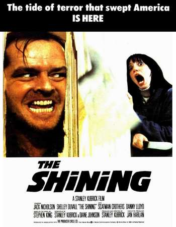 Poster Of The Shining 1980 English 400MB BRRip 480p ESubs Watch Online Free Download Worldfree4u