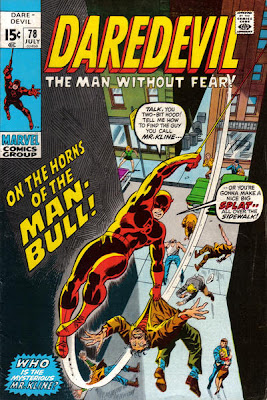 Daredevil #78, Man-Bull
