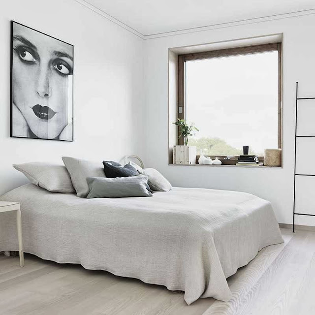 modern look bedroom