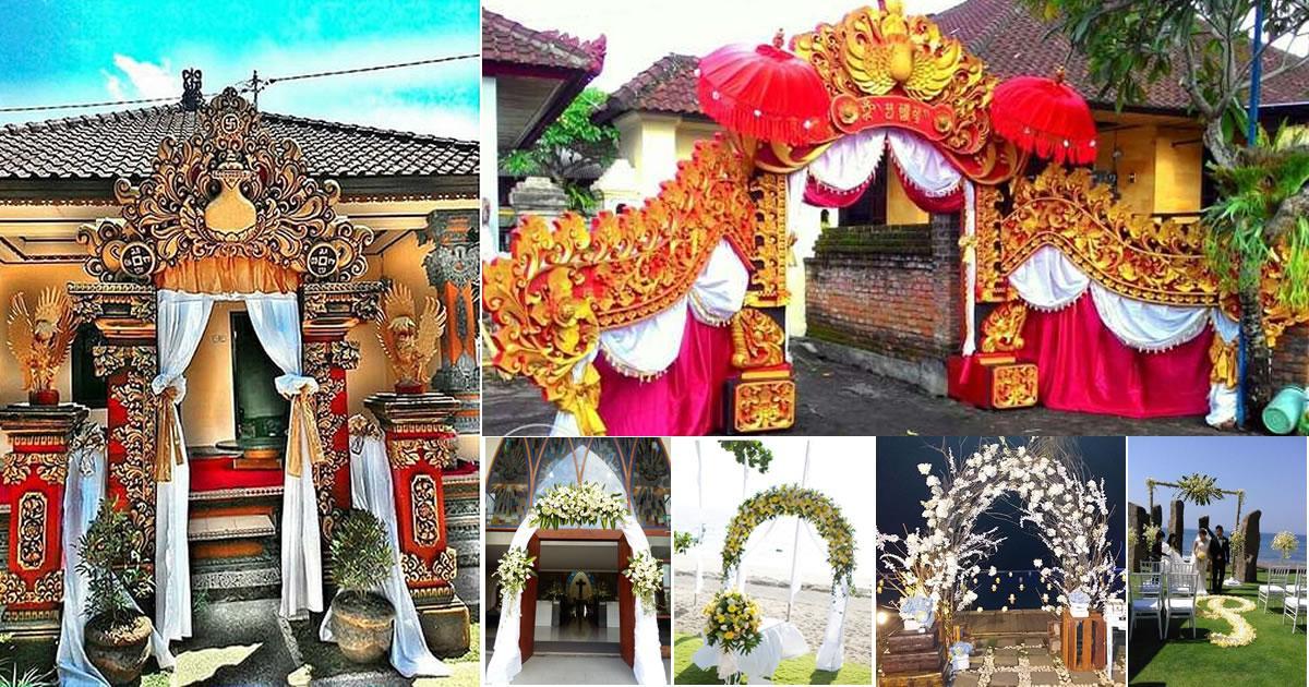 Dekorasi Pernikahan Bali | Kumpulan Dekorasi Terlengkap
