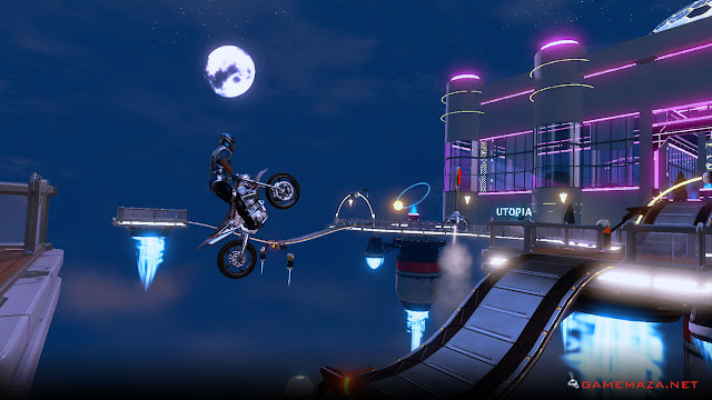 Trials Fusion Empire of the Sky Gameplay Screenshot 1