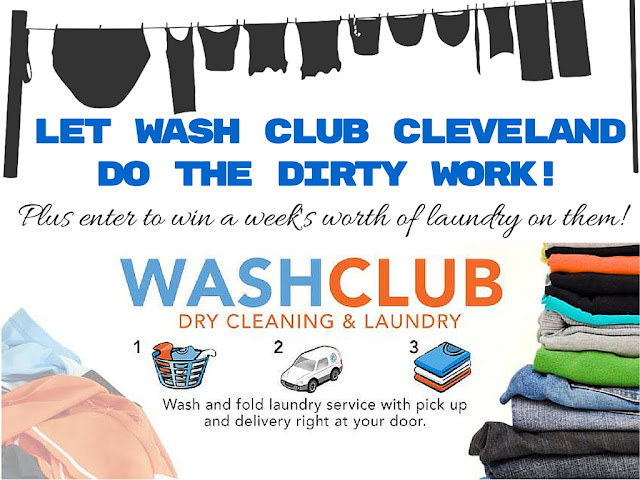 Win a week's worth of laundry done for you with Wash Club Cleveland